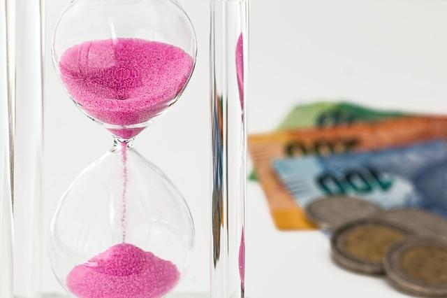 投資と砂時計