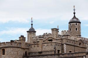 イギリスの城